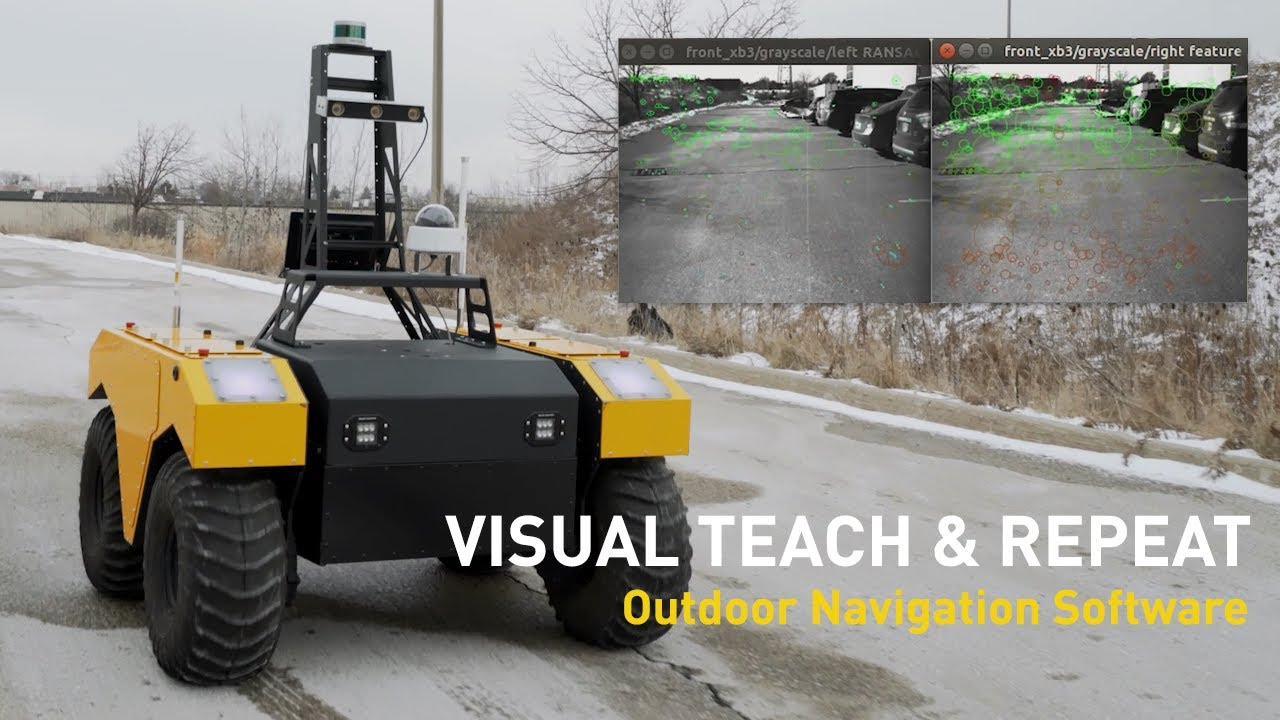 Visual Teach & Repeat Navigation for Mobile Robots | Warthog UGV