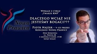 """""""Krzywa Laffera"""" - Piotr Najzer w Olsztynie (cz.6)"""