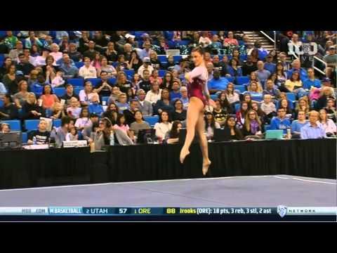 Natalie Brown Oklahoma 2016 Floor vs UCLA 9.875
