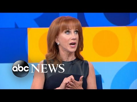 Kathy Griffin Talks Her New Book on 'GMA'