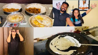 Breakfast  Lunch  Dinner Routine 🍞 🥘 | Diwali purchasing from Hussain's card 🕺😃