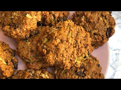 HEALTHY BREAKFAST COOKIES | Apple, Cinnamon & Raisin Oatmeal Cookies