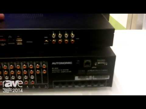 ISE 2014: Autonomic Talks About The Mirage Audio System and Server