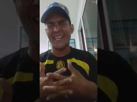 El Capitán Leonardo Carrero Araujo habla a oficiales de Guardia Nacional Venezolana 20 abril  2017