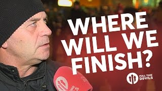 Where Will We Finish? | FANCAMS: Best Of The Rest! | Manchester United 1-1 Liverpool