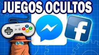 Activa los Juegos Ocultos de Facebook Messenger | Fácil | Juega mientras chateas :D