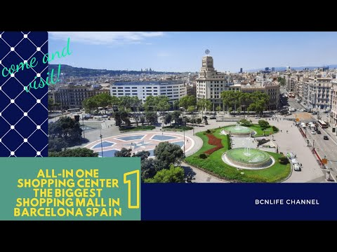 El Corte Ingles|The famous Shopping Center in Barcelona-PART I