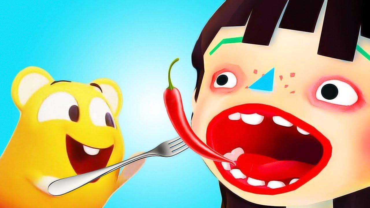 Divertidos Niños Juegos De Cocina   Aprende Creativo Con La Comida | Juegos  Infantiles