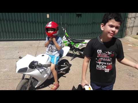 Rolê Com A Mini Moto R1