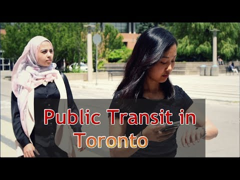 GC Webinar #6 - Public Transit in Toronto - Aug 9th, 2017