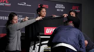 UFC on ESPN 7 Weigh-Ins: Cynthia Calvillo Misses Weight - MMA Fighting
