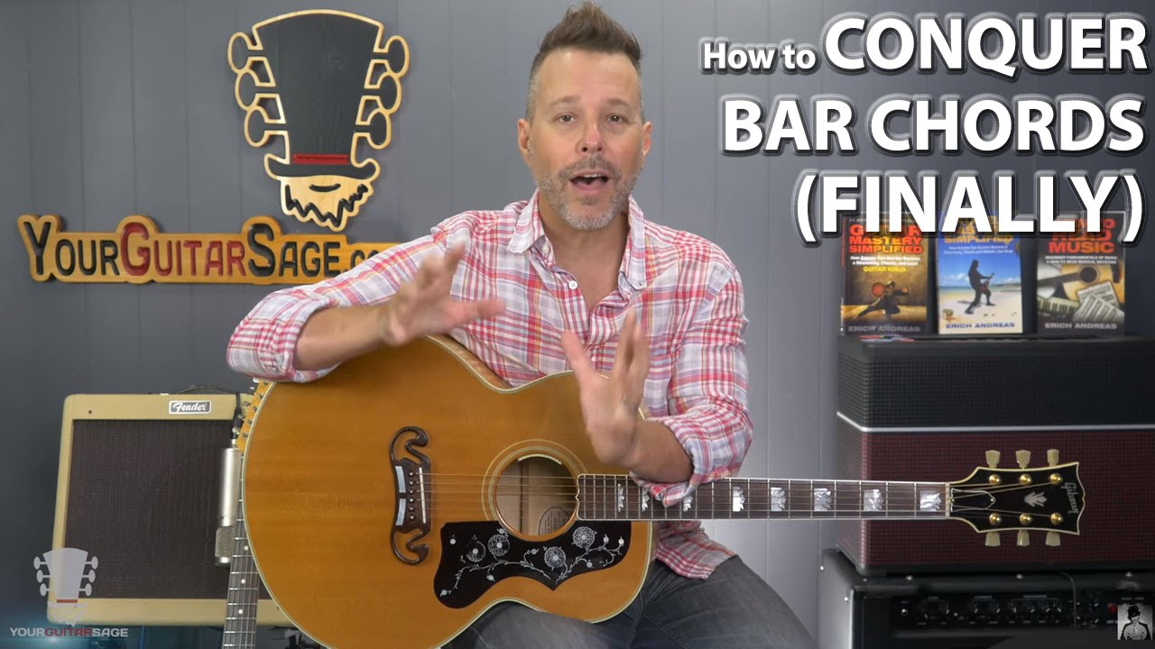 How to conquer bar chords finally youtube hexwebz Image collections