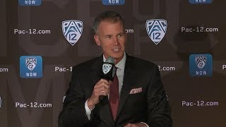 2019 Pac-12 Men's Basketball Media Day: USC's Andy Enfield
