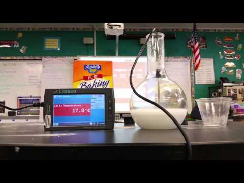 Baking soda & Citric Acid Endothermic Reaction