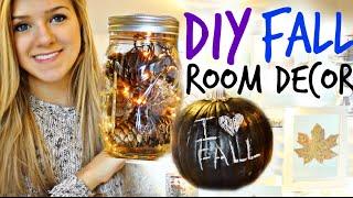 DIY Fall Room Decor! Easy & Cheap