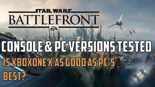 Star Wars Battlefront II: A detailed analysis on XboxOne X - Pro- PC- XboxOne - PS4