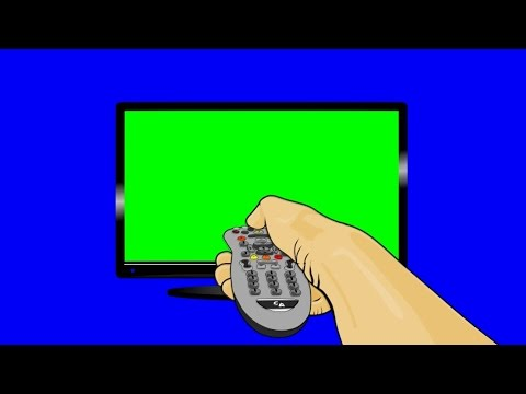 how to break a tv screen