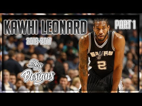 Kawhi Leonard Official 2016-2017 Season Highlights PART 1 // 25.5 PPG, 5.8 RPG, 3.5 APG