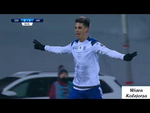GOL FILIPA MARCHWIŃSKIEGO NA 6 - 0! | Zagłębie S. - Lech Poznań