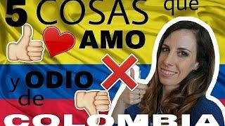 5 cosas que AMO y 5 cosas que ODIO de COLOMBIA/ Talianne Aventruas en familia