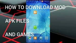 How to download mod apps and gmes