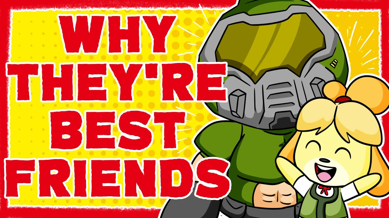 Why Doom Guy And Isabelle Became Best Friends Youtube
