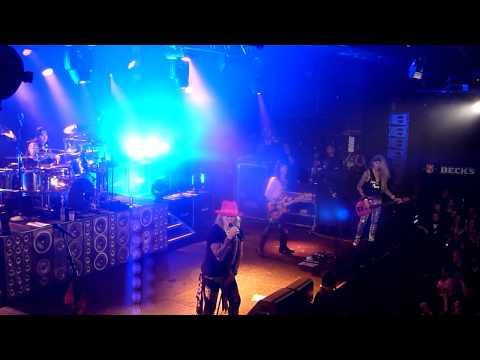Steel Panther- Party all day Hamburg 12.02.2014