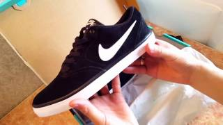 nike sb check solarsoft Кеды на лето 2017