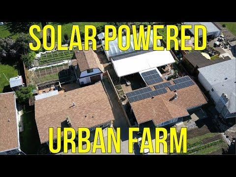 SOLAR POWERED URBAN FARM