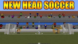★HEAD SOCCER IN MINECRAFT NO MODS! Minecraft Vanilla: Head Soccer Mini Game 1v1★