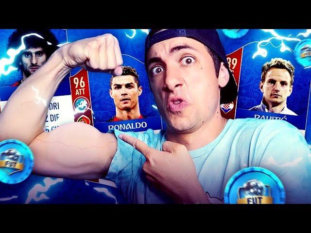 I GIOCATORI PIÙ FORTI DEL MONDIALE !!! - DRAFT CHALLENGE (FIFA 18)