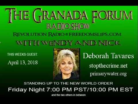 ~ Deborah Tavares ~ April 13, 2018 ~ Granada Forum