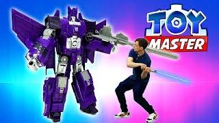 ✌ Toy Master спасает #Бамблби из плена Десептиконов! Игры #Трансформеры Видео Игрушки #длямальчиков