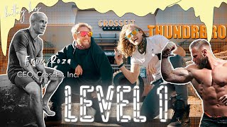 Level 1 with CrossFit's New Captain ROZA + THUNDRBRO Leg Day Presented by GOWOD