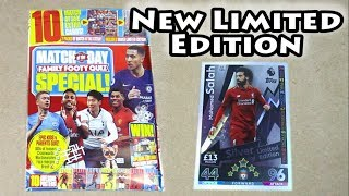 New Match Attax Extra 18/19 Mo Salah Silver Limited Edtion | Match of the Day Magazine Quiz Special