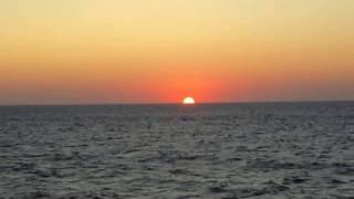 Закат на море в августе. Севастополь, парк Победы 2015