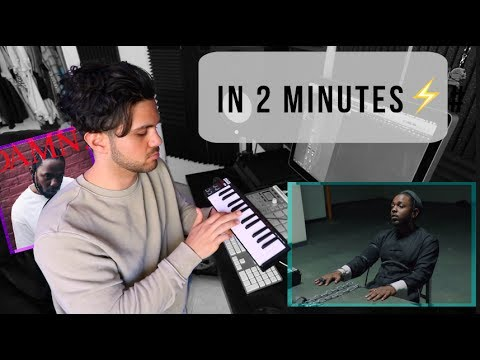 How Kendrick Lamar's 'DNA.' was made in 2 minutes - Поисковик музыки mp3real.ru