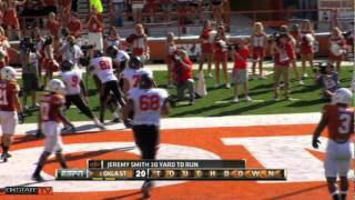 #6 Oklahoma State at #22 Texas - 2011 Raw Highlights