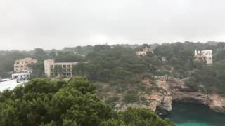 Schlechten Wetter im Mallorca