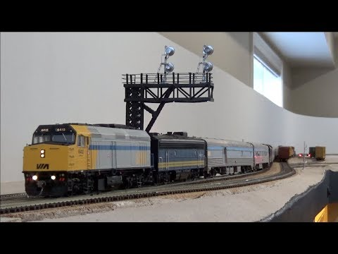 HO Ops Session - CN Caramat & Kinghorn Subdivisions - March 2018
