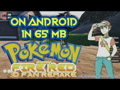 How To Download Pokemon Fire Red In 3d Graphics On NDs Emulator For Free