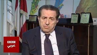 وزير الإتصالات اللبناني بطرس حرب عن شركات الإنترنت الغير مرخصة