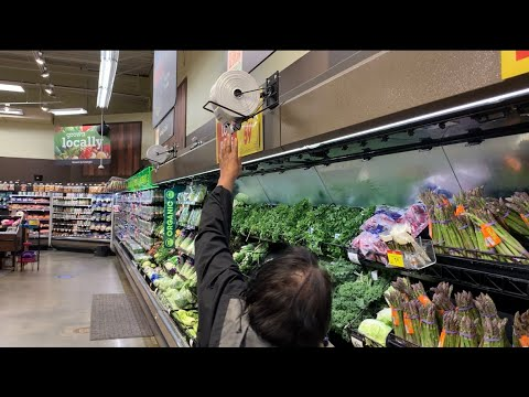 Kroger Fayetteville GA Store's Produce Bag Dispensers Placed Too High To Reach