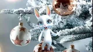 Привітання з Різдвом. Вітає Щира Зайка