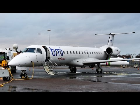 Historic Flight: Sparrow Aviation ✈ Embraer ERJ-145 [G-EMBI] ✈ Gothenburg - Stockholm ✈ 16 JAN 2015