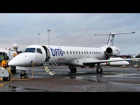 Historic Flight: Sparrow Aviation ✈ Embraer ERJ-145 [G-EMBI] ✈ Gothenburg - Stockholm ✈ 16 JAN 2015
