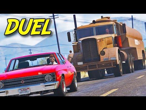 """Duel"" - GTA 5 Road Thriller Film"