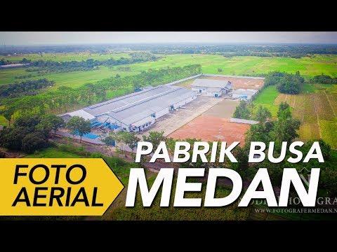 Sewa Drone - Foto Udara Pabrik Busa Di Binjai Medan Sumatera Utara