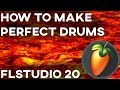 HOW TO MAKE HARD DRUMS IN FL STUDIO 20 | The SECRETS for trap DRUMS