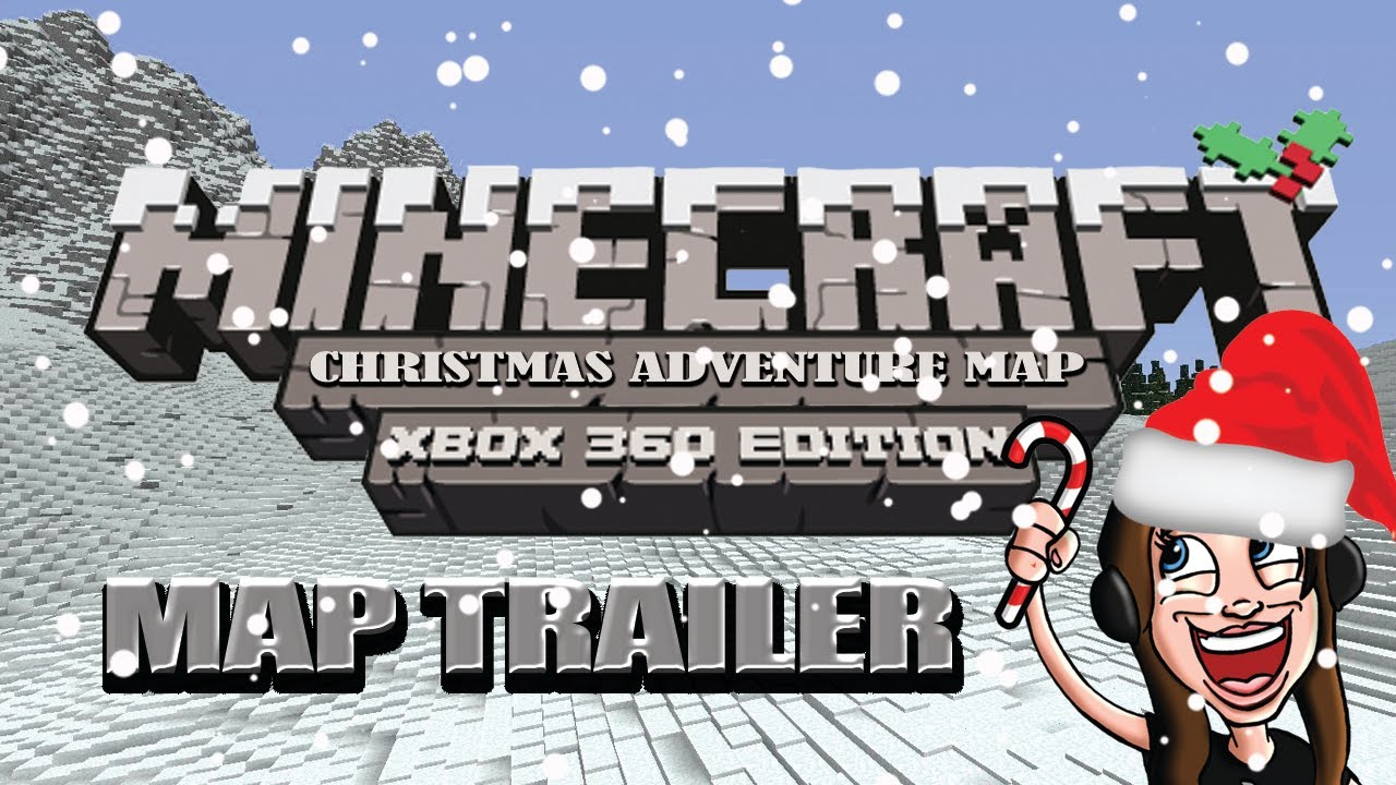 Minecraft Xbox 360: Christmas Adventure Map w/Download - YouTube